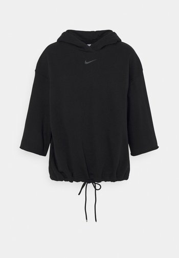 HOODIE - Sweater - black/smoke grey