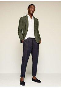 Mango - Blazer jacket - kaki - 1