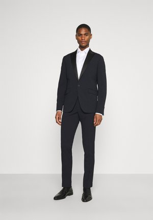 STRETCH TUXEDO SUIT - Completo - navy