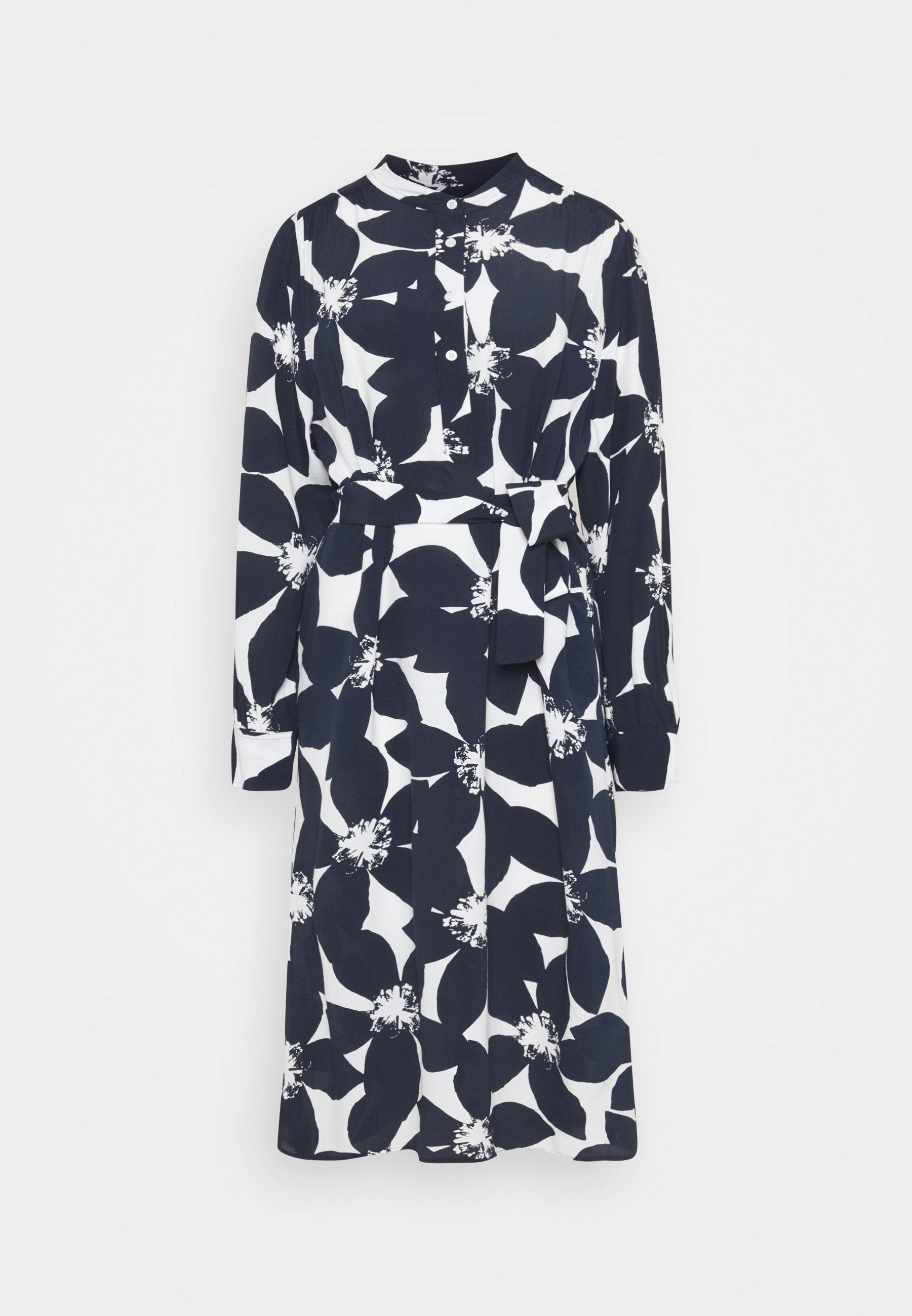 Women MIDI LANGARM - Shirt dress