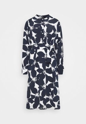MIDI LANGARM - Shirt dress - navy