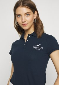 Hollister Co. - CORE LOGO - Polo - navy - 3