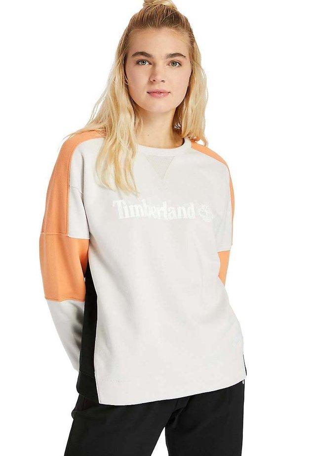 Sweatshirt - black coprtan whitesand