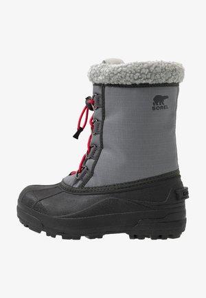 CUMBERLAN - Snowboots  - city grey/coal