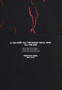 Redefined Rebel - ISAC  - Zip-up hoodie - black - 2