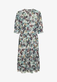Soaked in Luxury - Day dress - vivid floral print white - 5