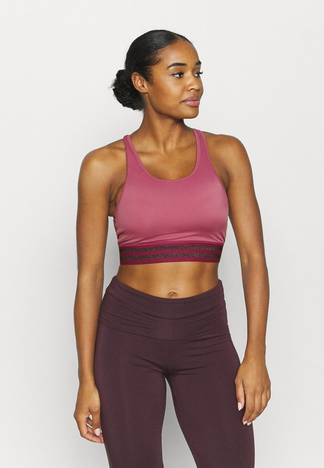 MANY MOONS MIDI - Sport-bh met light support - rosebud