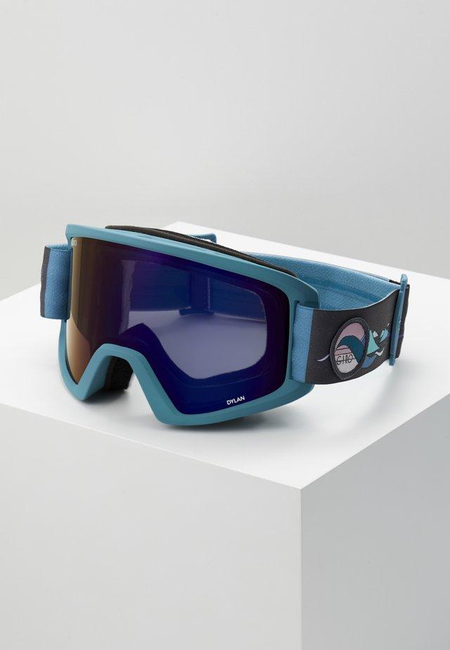 DYLAN - Masque de ski - grey/blue