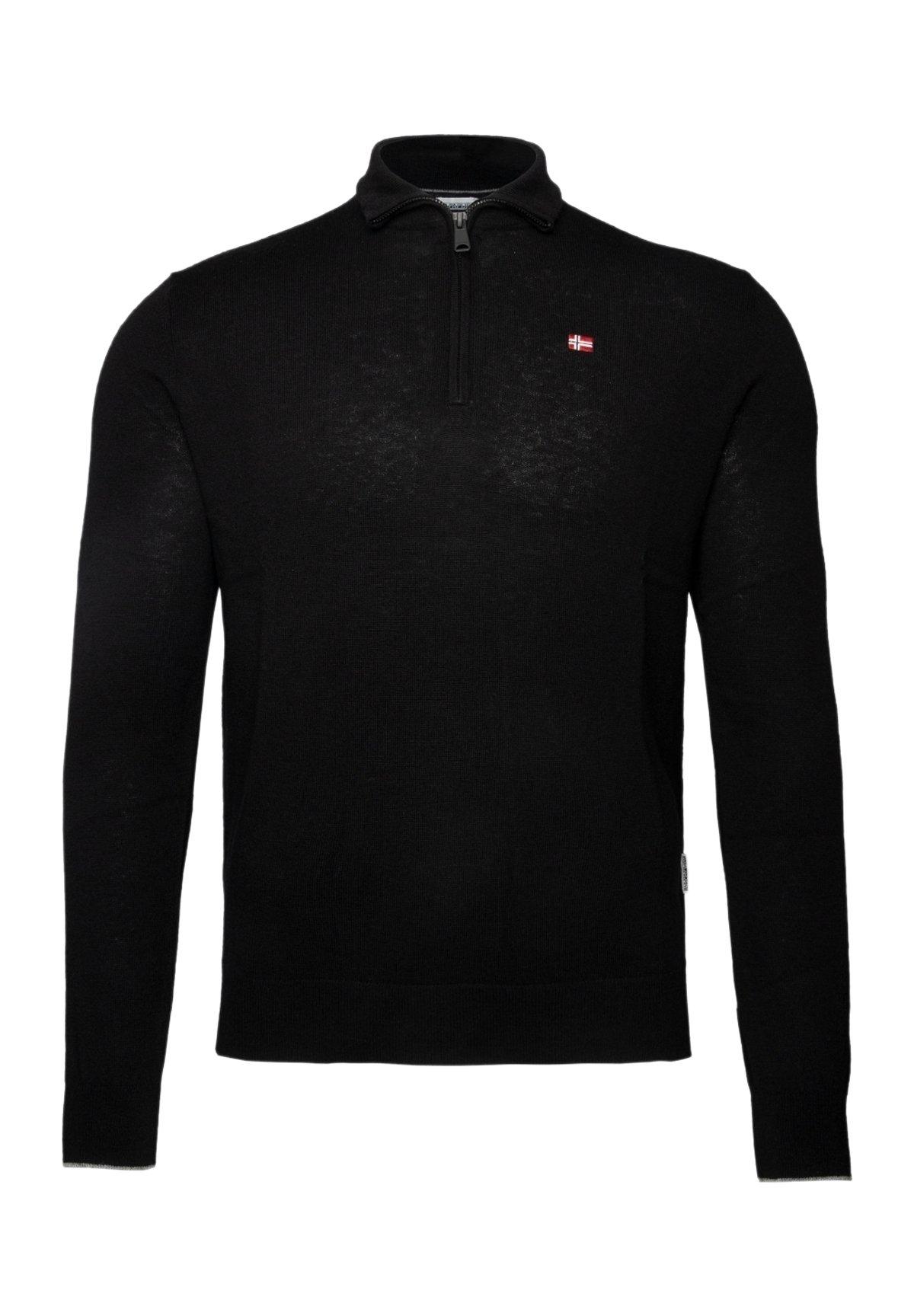 Homme DAMAVAND H 2 CREW NECK  - Pullover - black