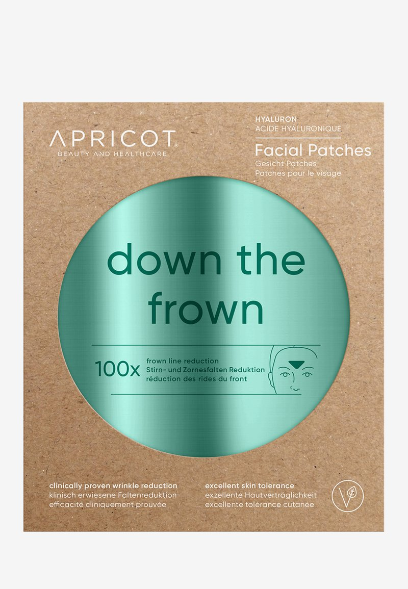 APRICOT - FACIAL PATCHES WITH HYALURON - Anti-Aging - -