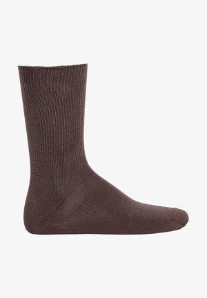 1 PAAR - RELAX SOFT, OHNE - Socks - braun