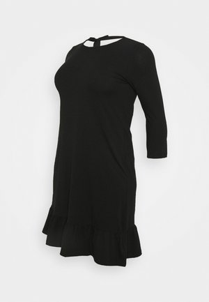 MLSASJA DRESS - Jerseykjole - black
