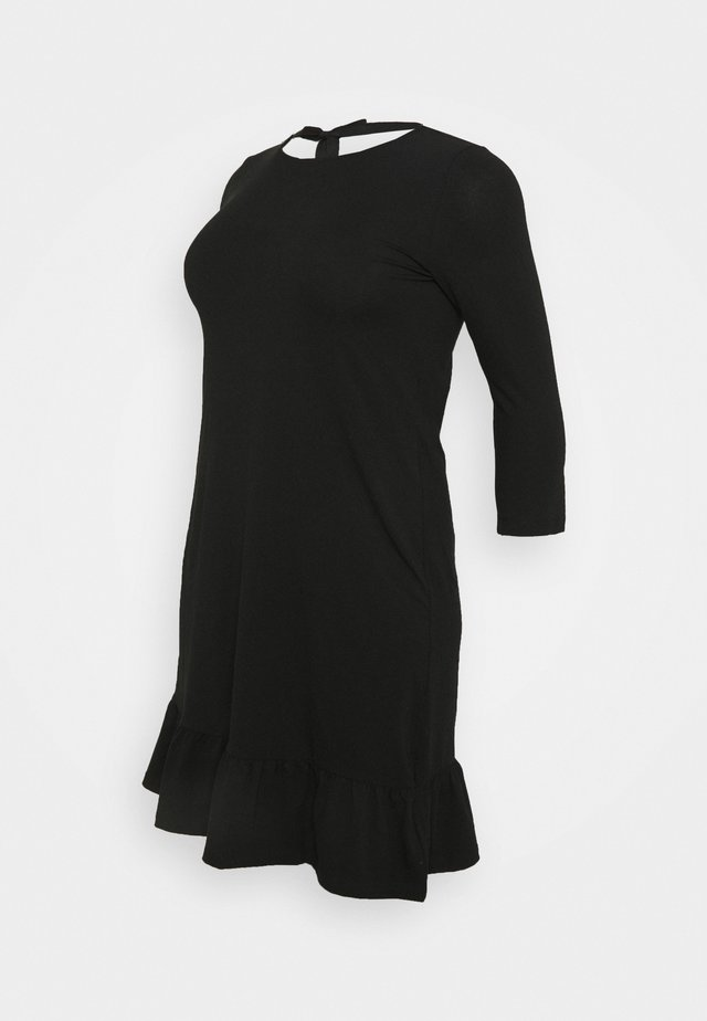 MLSASJA DRESS - Žerzejové šaty - black