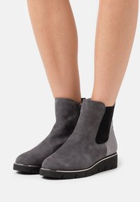 Caprice - Wedge Ankle Boots - granite - 0
