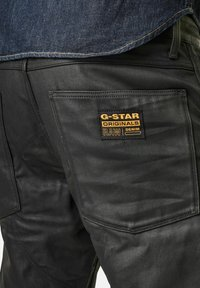 G-Star - 5620 3D ORIGNAL RELAXED TAPERED MERCHANT - Relaxed fit jeans - waxed black cobler - 3