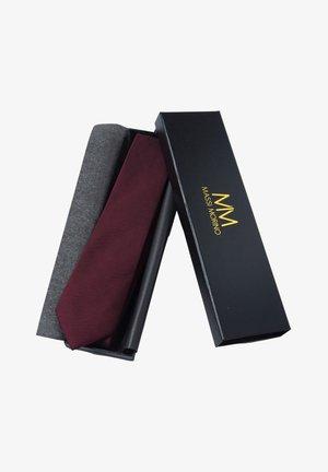 Cravatta - weinrot
