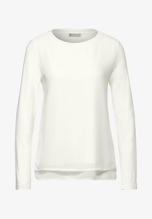Long sleeved top - weiß