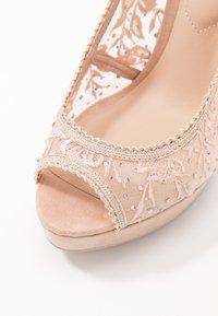 ALDO - DRERRADIA - Peeptoe heels - bone - 2