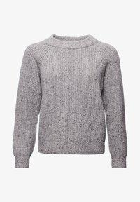 Superdry - FREYA TWEED - Jumper - light grey tweed - 2