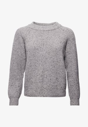 FREYA TWEED - Jumper - light grey tweed