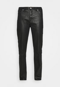 NA-KD - HIGH WAIST - Straight leg jeans - black - 4
