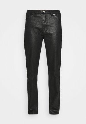 HIGH WAIST - Straight leg jeans - black