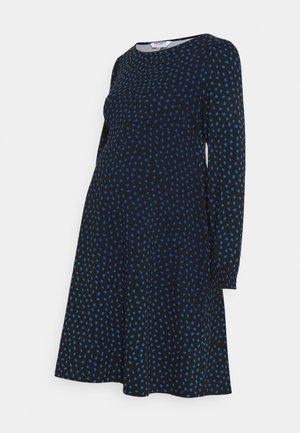 LEOPARD DRESS - Trikoomekko - multi