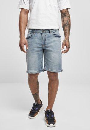 Denim shorts - light destroyed washed
