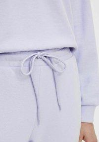 Pieces - Tracksuit bottoms - purple heather - 3