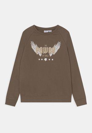 NKFVENUS - Sweatshirt - stone gray