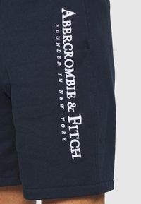 Abercrombie & Fitch - TECH LOGO - Shorts - navy - 3