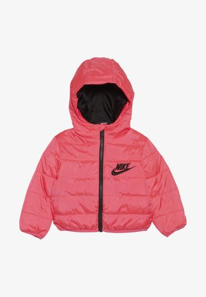 FILLED JACKET BABY - Winterjacke - racer pink/black