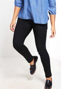 Zizzi - NILLE - Slim fit jeans - black - 0