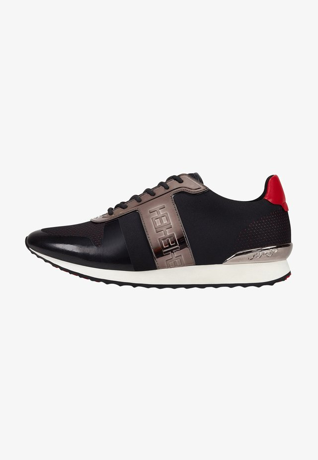 MONO RUNNER-METALLIC - Sneaker low - black
