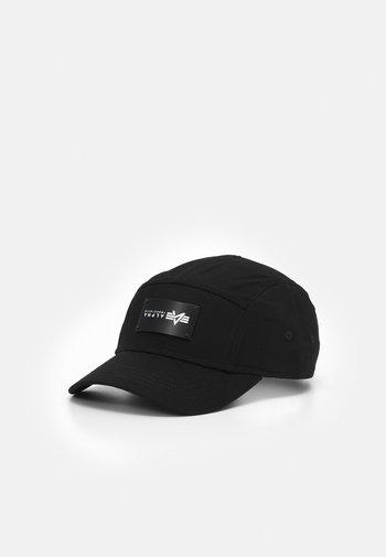 5 PANEL UNISEX - Czapka z daszkiem - black