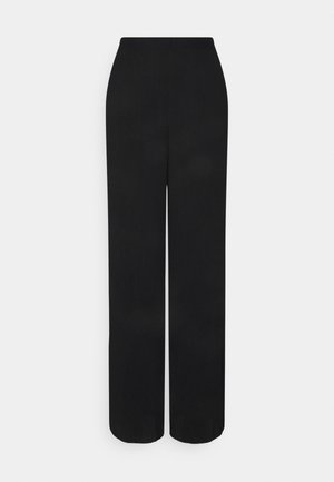 VMYOLU PLEAT WIDE PANT  - Trousers - black
