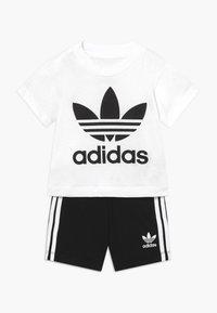 adidas Originals - TEE SET - Shortsit - white/black - 0