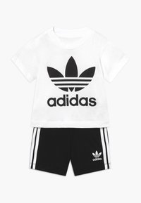 adidas Originals - SET UNISEX - Shorts - white/black - 0