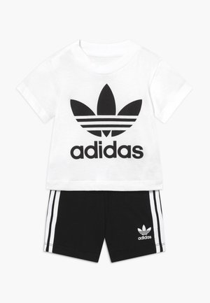 TEE SET - Short - white/black