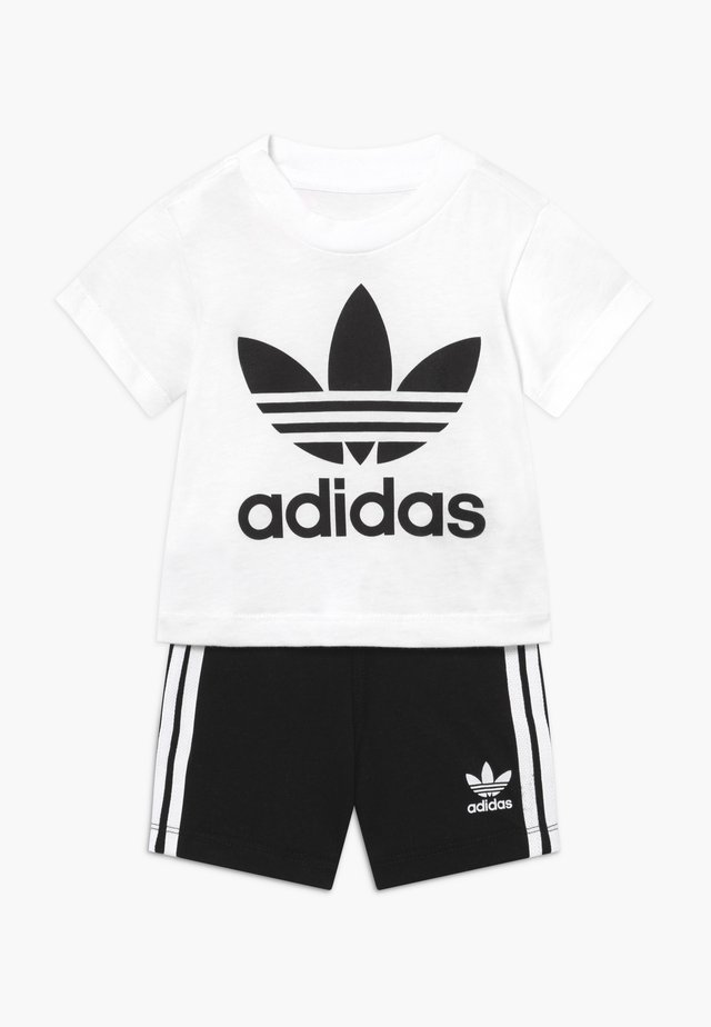 SET UNISEX - Shortsit - white/black