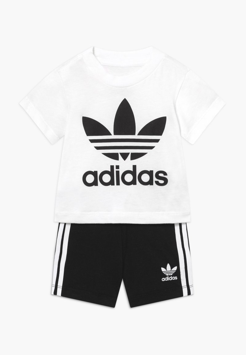 adidas Originals - SET UNISEX - Kraťasy - white/black