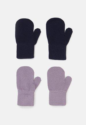 2 PACK UNISEX - Wanten - navy/purple