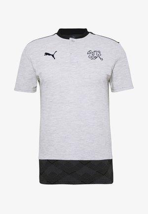 SCHWEIZ SFV CASUALS  - National team wear - light grey heather
