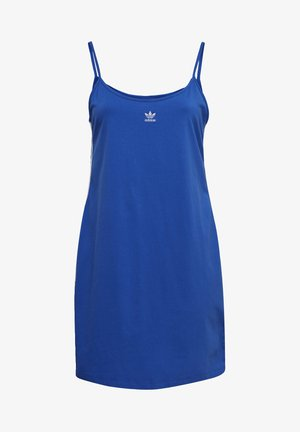 SPAGHETTI STRAP DRESS (PLUS SIZE) - Jurken - blue
