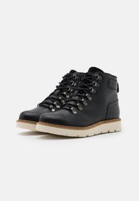 Vero Moda Wide Fit - VMMARY BOOT WIDE FIT - Platform ankle boots - black - 2
