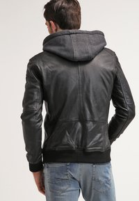 Oakwood - JIMMY - Leather jacket - noir - 2