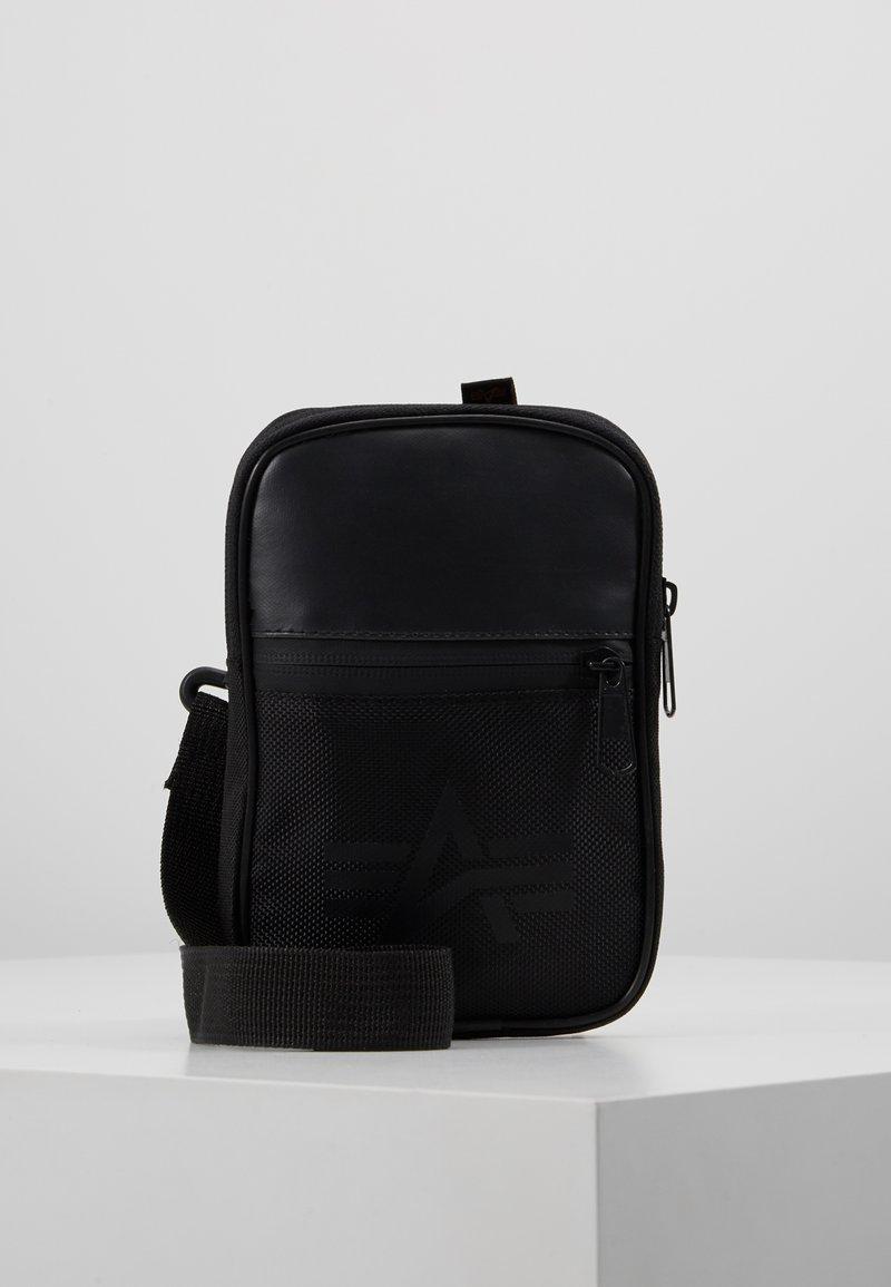 Alpha Industries - UTILITY BAG - Across body bag - black