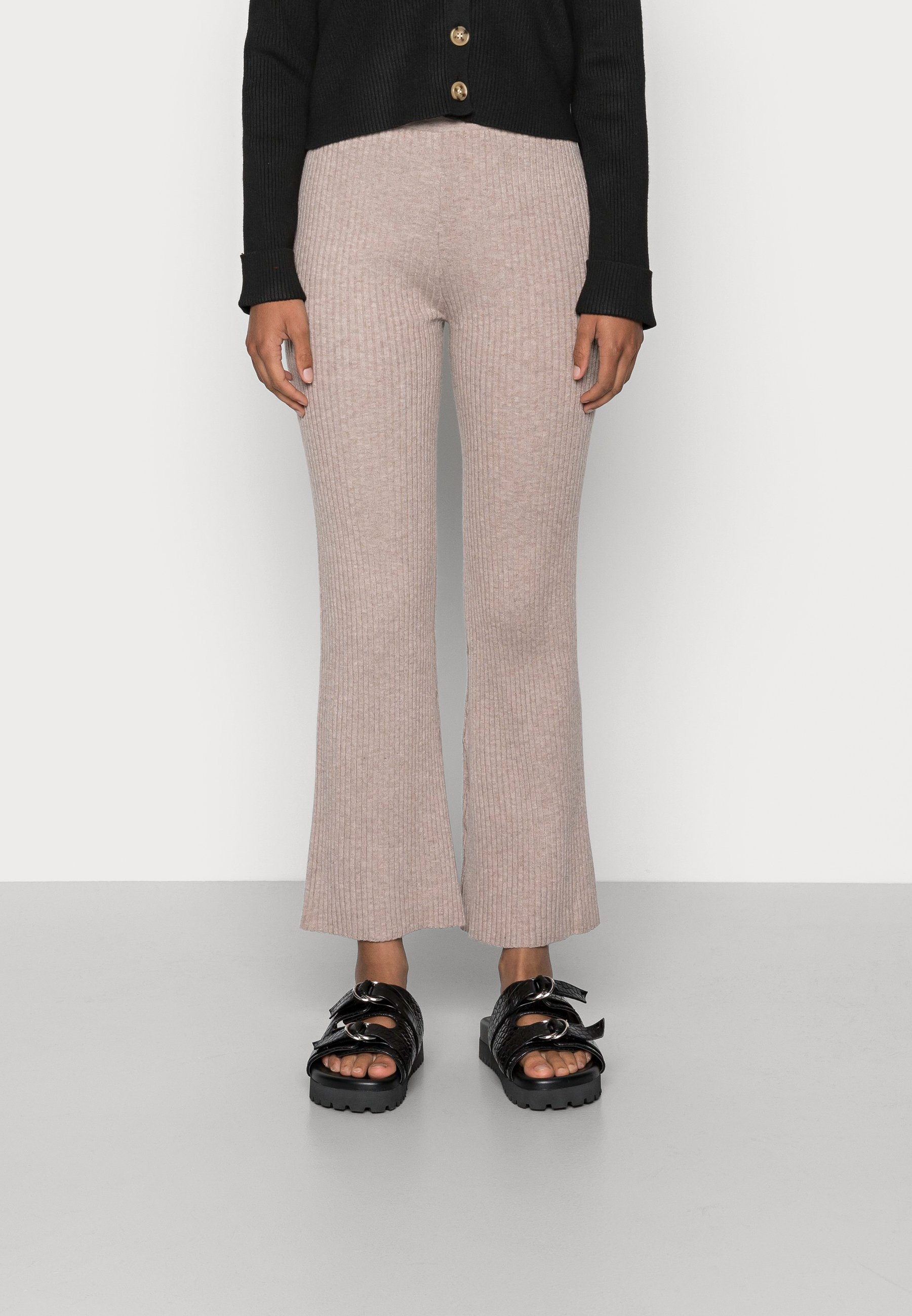Damen KYLIE TROUSER FLARE TROUSERS - Stoffhose