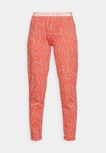 Pyjama bottoms - faded rose