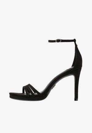 MELISSA - Sandały na obcasie - black
